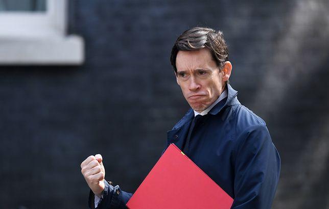 Kandydat na premiera Wielkiej Brytanii Rory Stewart