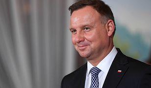 Andrzej Duda pogratulował Oldze Tokarczuk nagrody Nobla