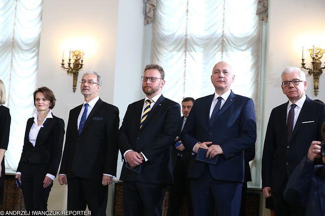 Rekonstrukcja rządu. Uroczystość w Pałacu Prezydenckim
