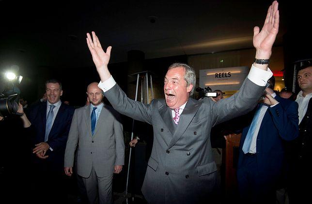 Nigel Farage. Po Brexicie czas na Calexit