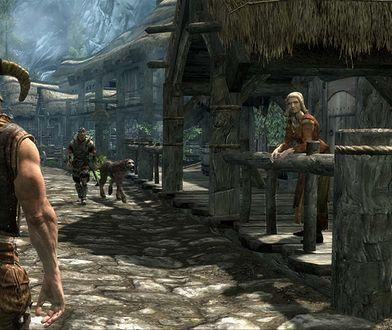 """Screen z gry """"Skyrim"""" w wersji premierowej. Na VR-ze nie wygląda tak ładnie."""
