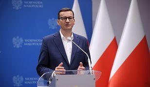 Mateusz Morawiecki usprawiedliwia słowa Witek