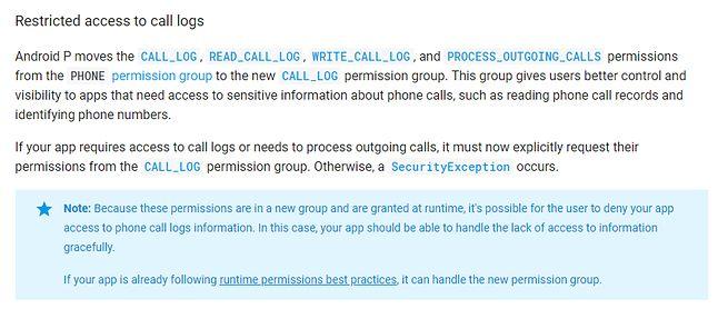 Informacje o zmianach w zakresie prywatności są już opisane w dokumentacji.
