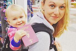 Zabrała kilkutygodniową córeczkę w podróż życia