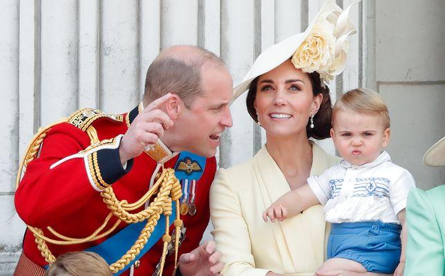 William, Kate i Louis w 2019 r.