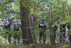 Policja znów w parku Reagana