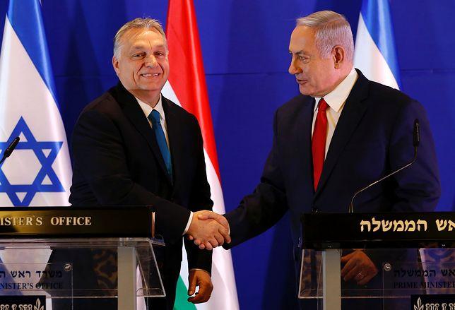 Premierzy Wiktor Orban i Benjamin Netanjahu spotkali się w Jerozolimie