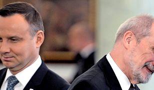 Andrzej Duda i Antoni Macierewicz od dawna nie pałają do siebie sympatią
