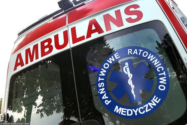 Poznań. Dramat niedaleko szpitala, kobieta urodziła martwe dziecko