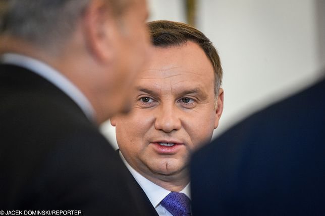 Rzecznik Andrzeja Dudy wskazał, że trzeba bazować na prawie