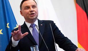 Andrzej Duda pełen podejrzeń. Wymowny komentarz o decyzji TSUE