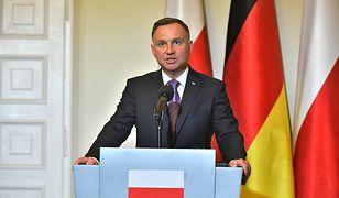 Andrzej Duda zwrócił się do prezydenta Niemiec. Mówił o stratach wojennych