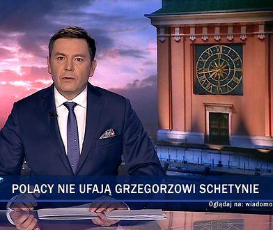 """""""Wiadomości"""" TVP uderzyły w Grzegorza Schetynę za spotkanie z Angelą Merkel. Wypomniały Niemcom II wojnę światową."""