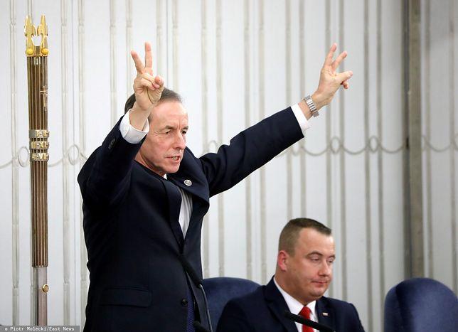 Opozycyjny marszałek Senatu Tomasz Grodzki szykuje orędzie w TVP.