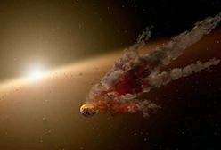 Kosmiczny teleskop zaobserwował efekt zderzenia planetoid