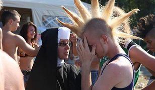 Siostra Teresa Pawlak na festiwalu muzycznym