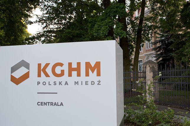 KGHM Polska Miedź ma swoją siedzibe w Lubinie