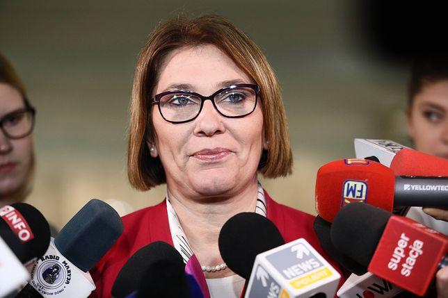 Beata Mazurek zabrała głos