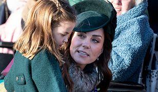 Kate Middelton z księżniczką Charlotte