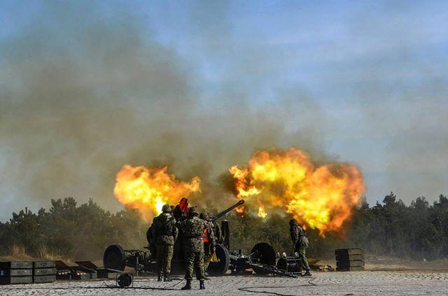 Armia ćwiczy na potęgę, wielkie strzelanie w Ustce