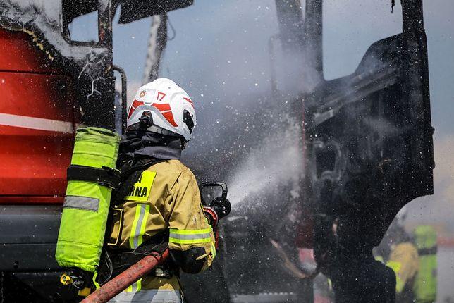 Pożar w Bisztynku, zdjęcie ilustracyjne