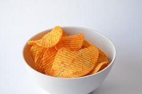 Chipsy ziemniaczane bez zawartości tłuszczu (solone)