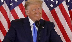 Trump ogłaszał zwycięstwo. Stacje telewizyjne musiały to przerwać