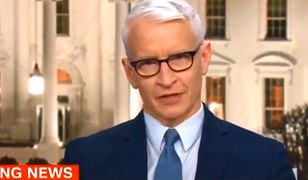 Dziennikarz CNN obraził Trumpa na wizji. Od razu przeprosił