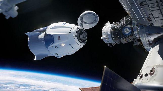 Historyczny lot SpaceX i NASA. Astronauci dotarli na ISS