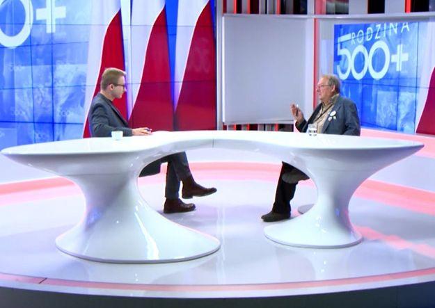 Adam Michnik o 500+: jeżeli to nie będzie miało negatywnych konsekwencji dla budżetu, to trzeba powiedzieć, że PiS zrobił coś dobrego dla Polaków