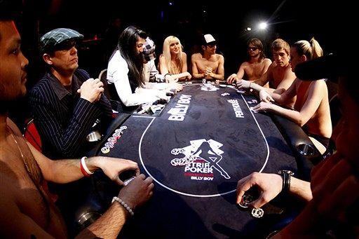 Mistrzostwa w rozbieranym pokerze - zdjęcia