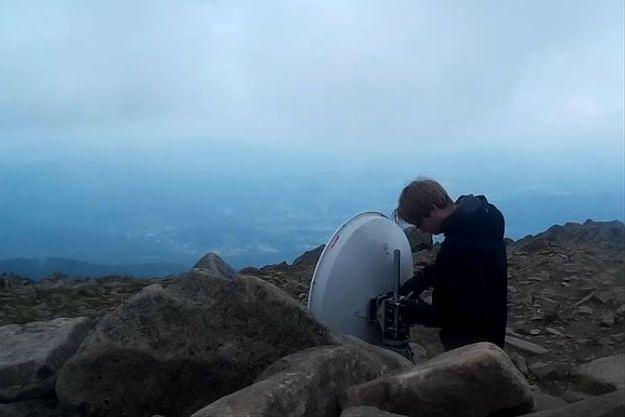 Połączenie WiFi na 250 km. Studenci z Wrocławia pobili rekord Polski