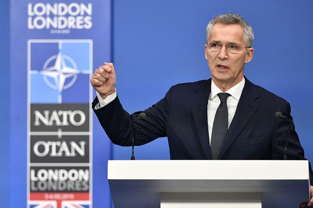 Szczyt NATO w Londynie. Sekretarz generalny Sojuszu Jens Stoltenberg
