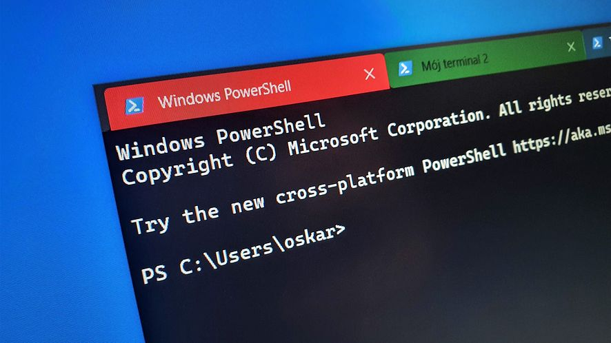 Windows Terminal otrzymuje nowe funkcje, fot. Oskar Ziomek