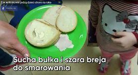Tak w Krakowie jedzą dzieci chore na raka (WIDEO)