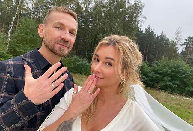 Kossakowski i Wojciechowska już po ślubie