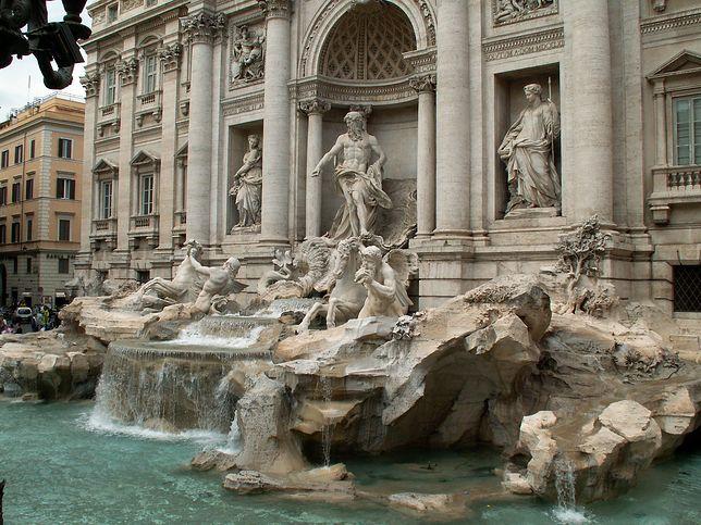 Fontanna di Trevi to jedna z najsłynniejszych rzymskich fontann