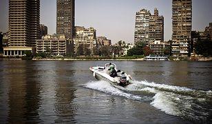 Egipt - wodne taksówki w Kairze