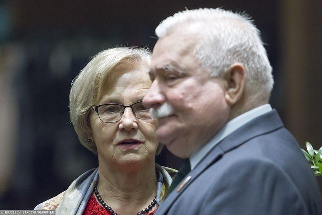 Lech Wałęsa nie świętuje z żoną rocznicy ślubu