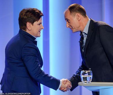 Beata Szydło i Paweł Kukiz