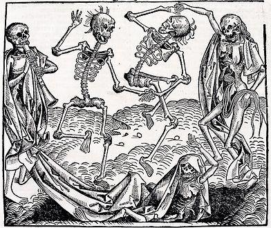 """Taniec śmierci"" Michaela Wolgemuta"