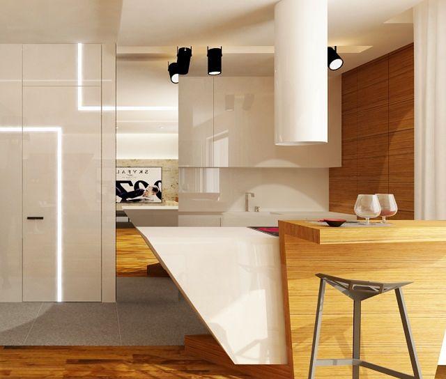 Kuchnia bez okna - oświetlenie