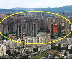 Niesamowite nagranie z Chin. Osiedle zniknęło z powierzchni ziemi