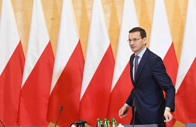 """Morawiecki już po objęciu funkcji premiera zapowiadał """"przegląd resortów"""""""