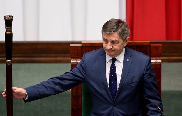 Marszałek Sejmu Marek Kuchciński o poparciu PiS: nie słyszałem, żeby coś się zmieniło