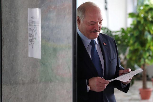 Wybory prezydenckie na Białorusi. Alaksandr Łukaszenka głosował przed południem w Mińsku