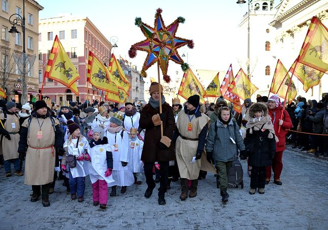 Orszak Trzech Króli przeszedł ulicami Warszawy [GALERIA]