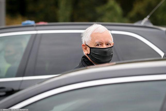 Koronawirus. Jarosław Kaczyński na kwarantannie