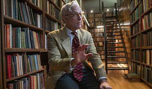 Hugh Grant jako historyk w filmie podsumowującym 2020 r.