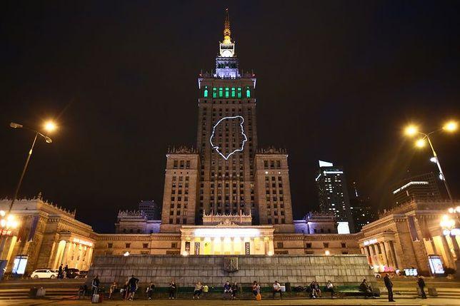 Fryderyk Chopin na Pałacu Kultury i Nauki. Wyjątkowa akcja [GALERIA]